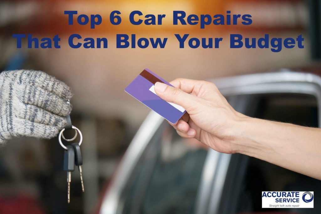 top 6 car repairs that can blow your budget