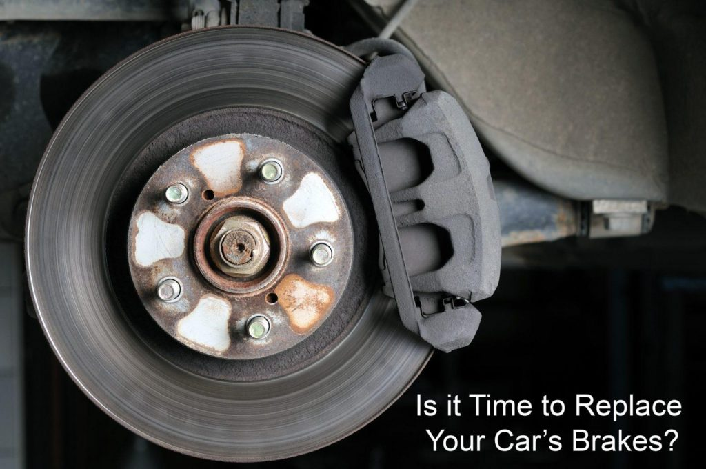 Is it time to replace your car's brakes?