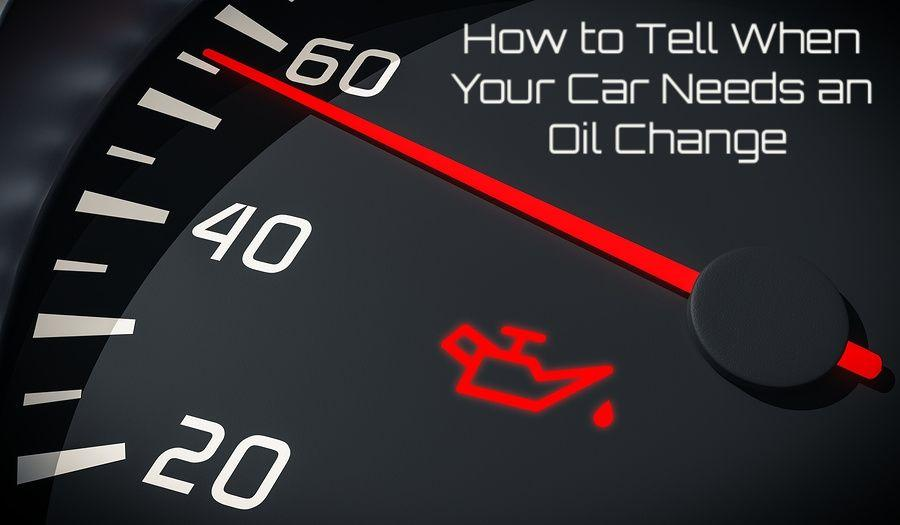 does my car need an oil change?