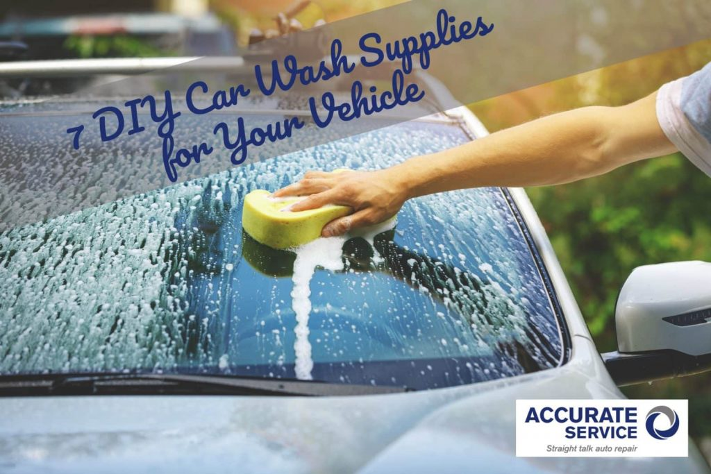 DIY car wash supplies